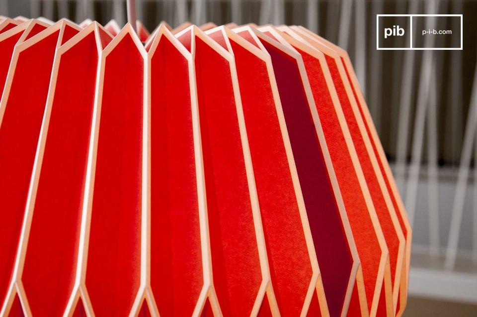 Met zijn scherpe lijnen en heldere kleuren, doet de Hippe lamp denken aan de jaren 60