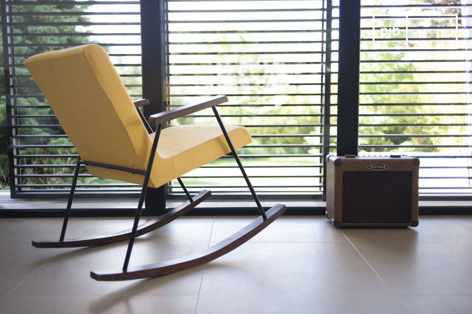 De stoel is zeer ergonomisch door de comfortabele zitting