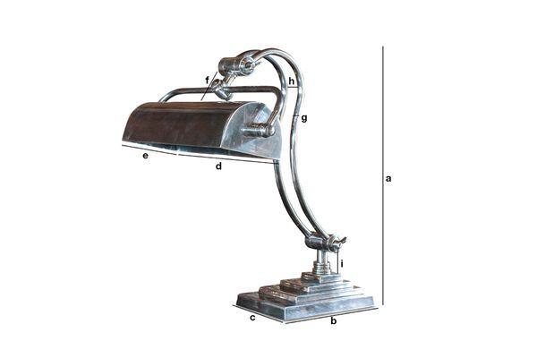 Productafmetingen Hedges bureaulamp