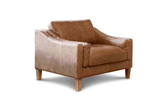 Heidsieck kaneel fauteuil Productfoto