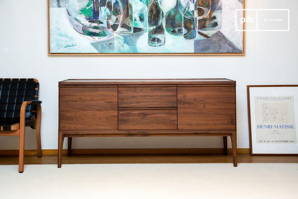 De veelzijdige vorm kan er ook een elegante TV-kast van maken