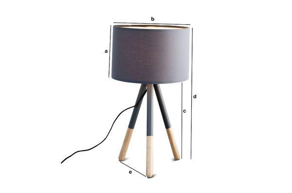 Productafmetingen Highland Tafellamp