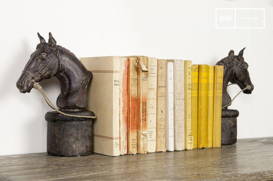 Hippique boekensteunen