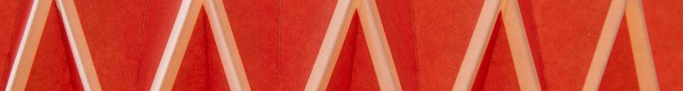 Benadrukte materialen Hippy langwerpige hanglamp