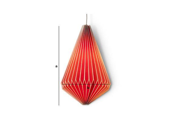 Productafmetingen Hippy langwerpige hanglamp