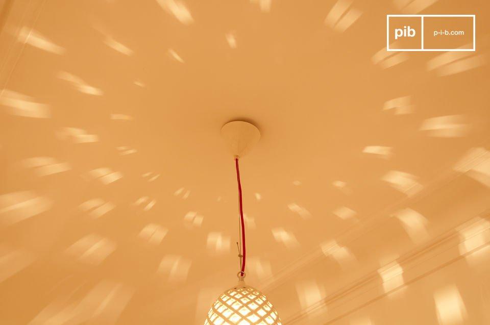 Porseleinen lampenkap voor  unieke verlichting