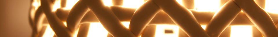 Benadrukte materialen Hoffen hanglamp