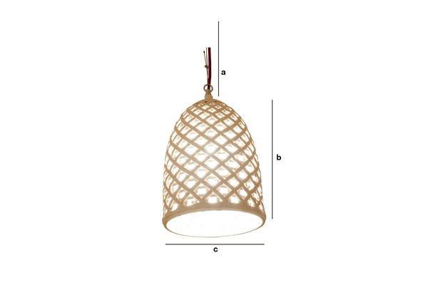 Productafmetingen Hoffen hanglamp