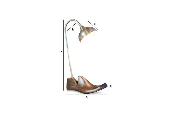 Productafmetingen Horma tafellamp