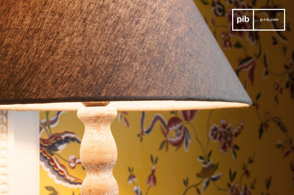 Charme van verouderd hout, inclusief lampenkap
