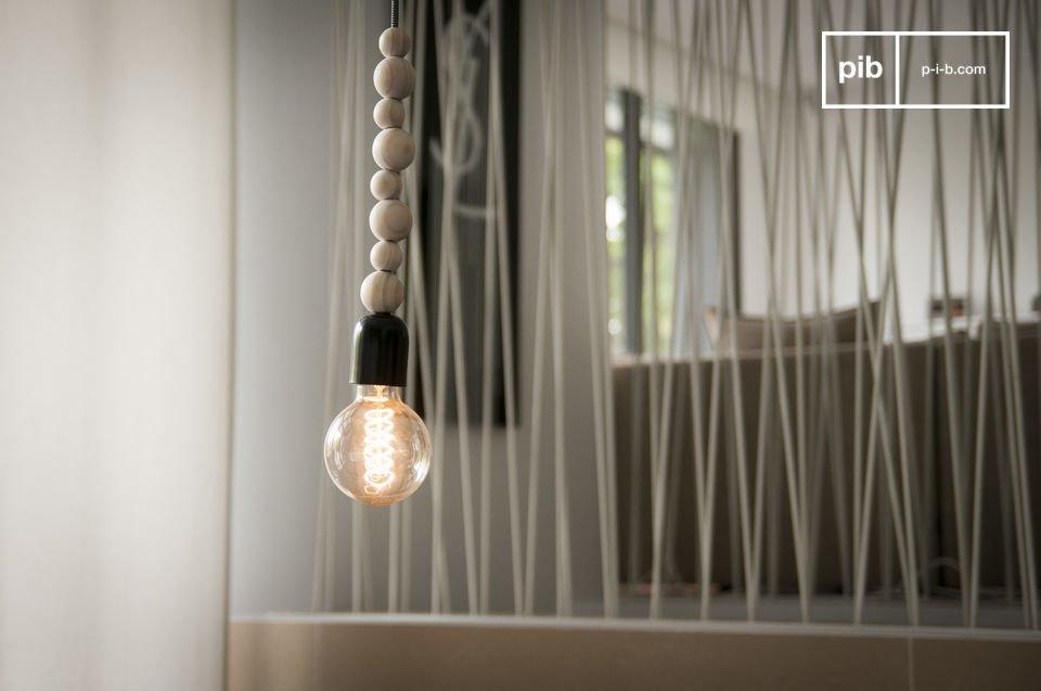 Houten Filipïnn hanglamp