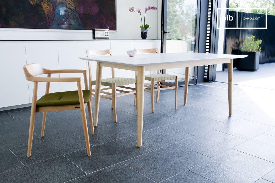 Houten Fjord tafel