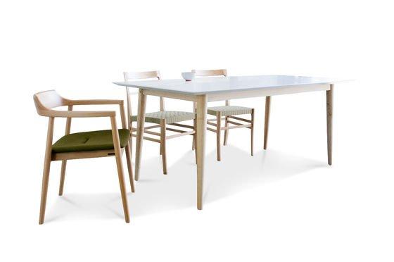 Houten Fjord tafel Productfoto