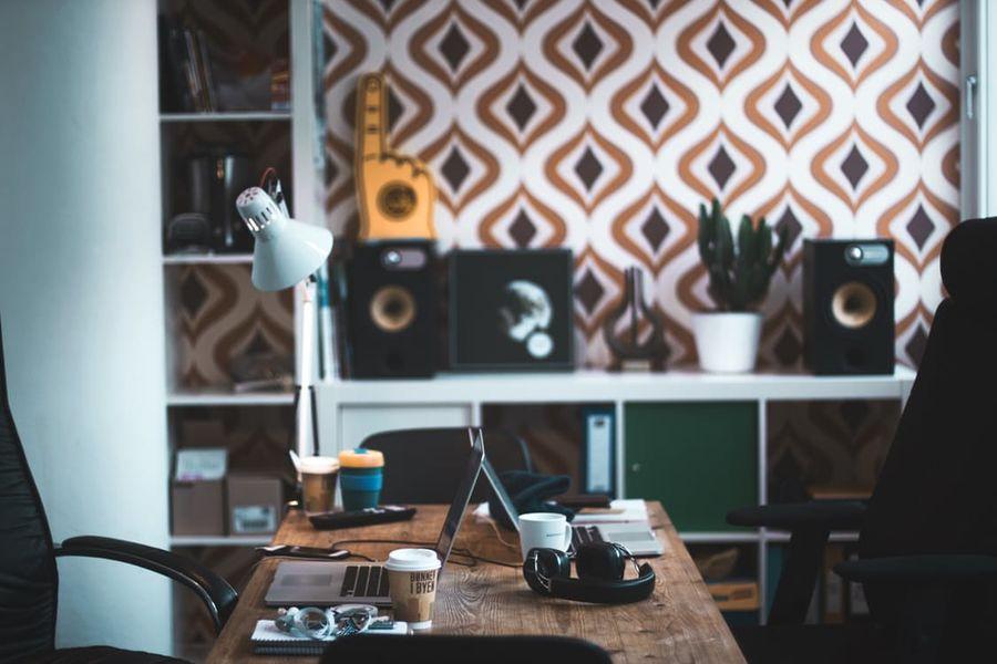 Houten salontafel koffie decor