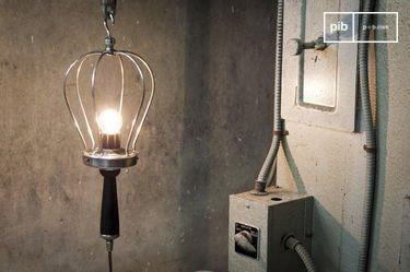 Industriële hand lamp