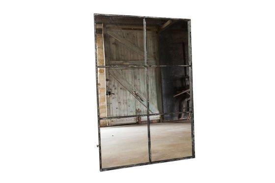 Industriële spiegel 6 vlakken Productfoto