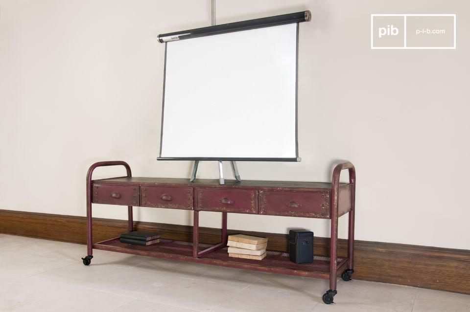 Industriele Tv Meubels : Industriële tv meubel een praktische en robuuste kast in pib