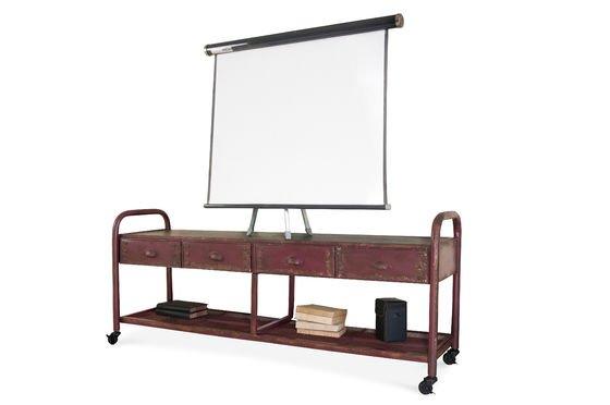 Industriële tv-meubel Productfoto