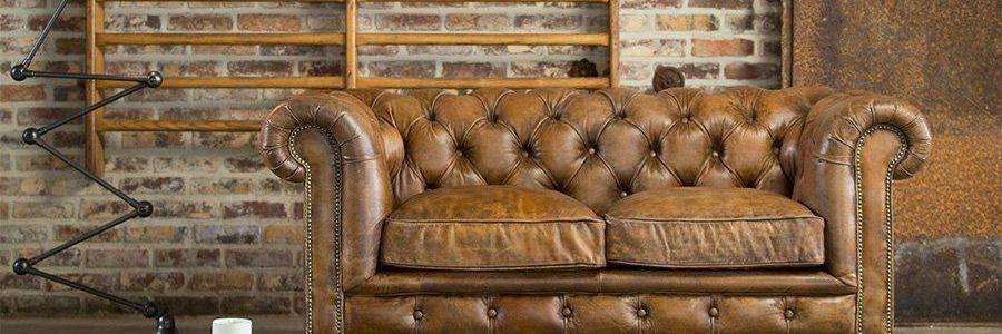 Industriële vintage meubels