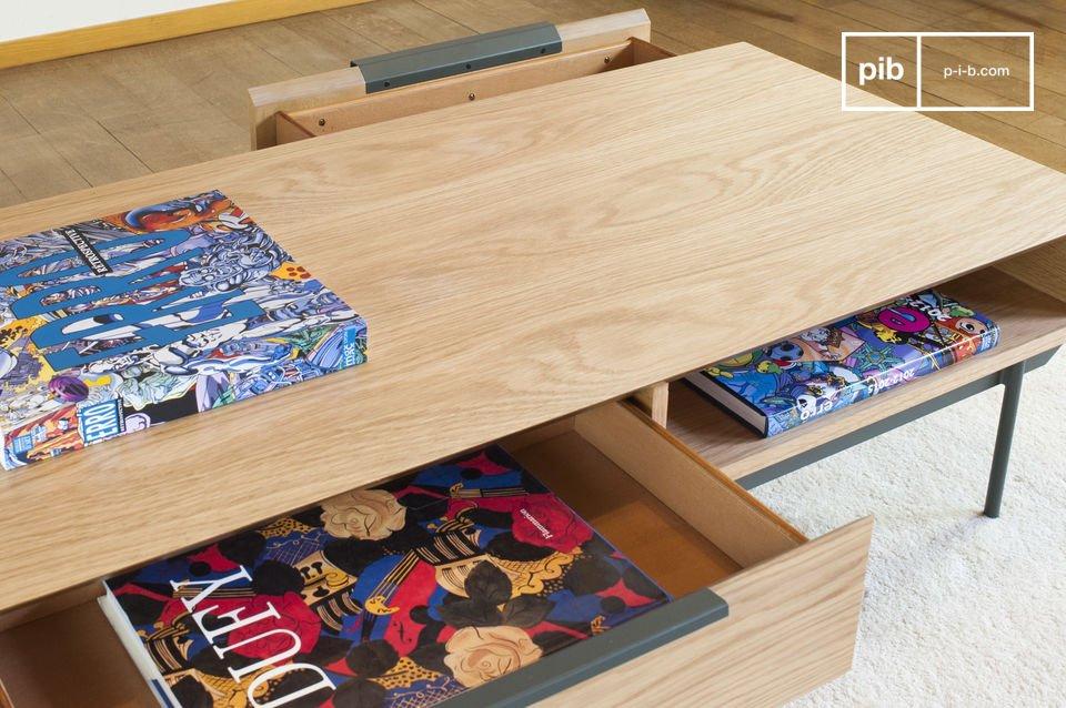 De Jackson salontafel brengt een Scandinavische touch aan je woonkamer