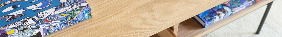Benadrukte materialen Jackson salontafel