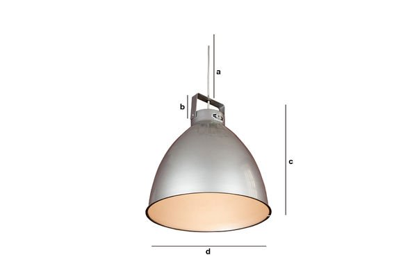 Productafmetingen Jieldé Augustin hanglamp