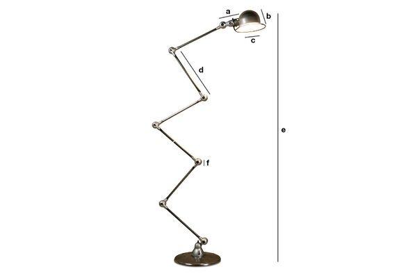 Productafmetingen Jieldé Loft lamp
