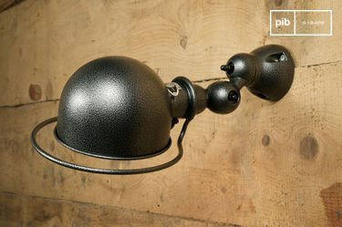 Jieldé Loft wandlamp hammered finish