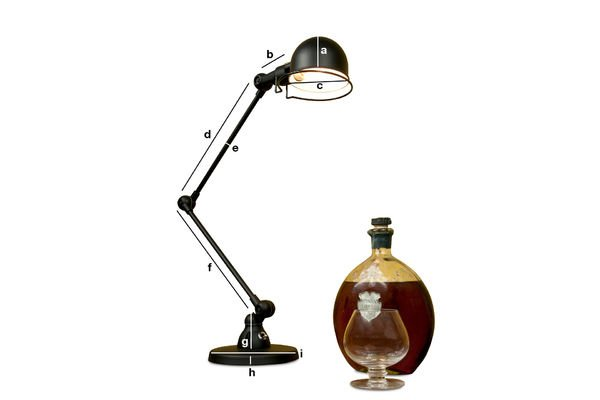 Productafmetingen Jieldé Signal bureaulamp
