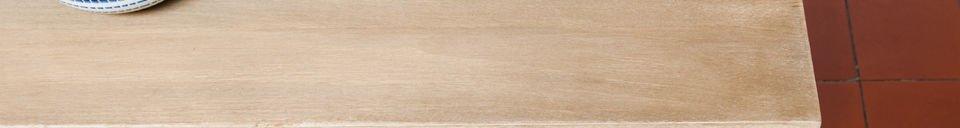 Benadrukte materialen Jotün houten tafel
