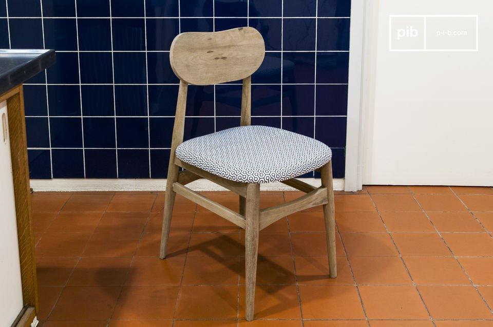 De stoel is eenvoudig te integreren