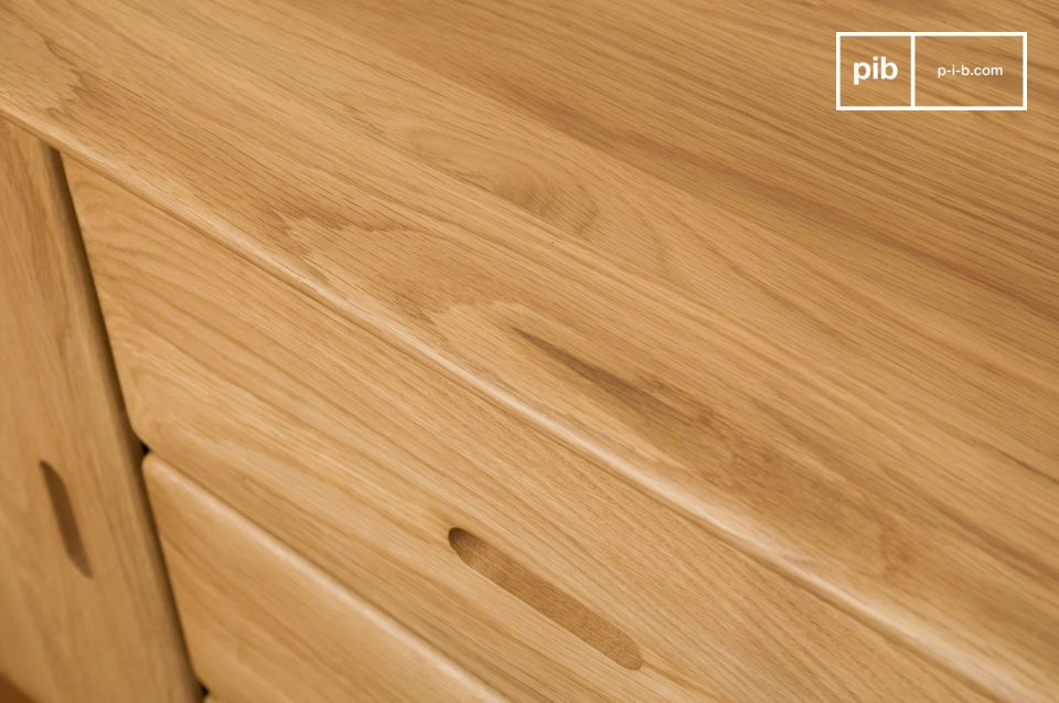 Kies voor een opslageenheid die de rust van helder hout