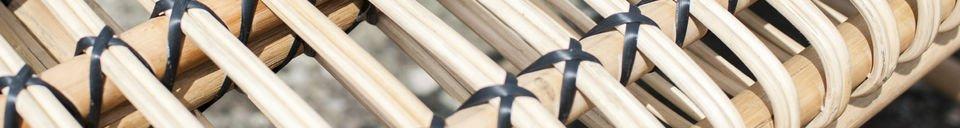 Benadrukte materialen Keliko bankje
