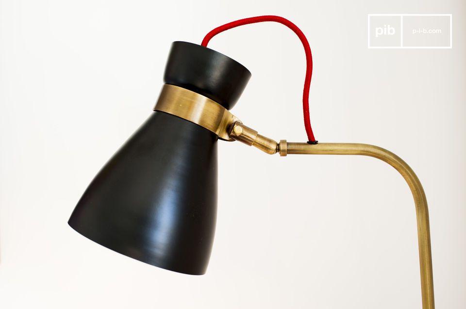 Elegantie van een vintage design lamp