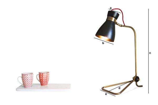 Productafmetingen Kelly lamp
