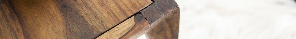 Benadrukte materialen Kitell salontafel