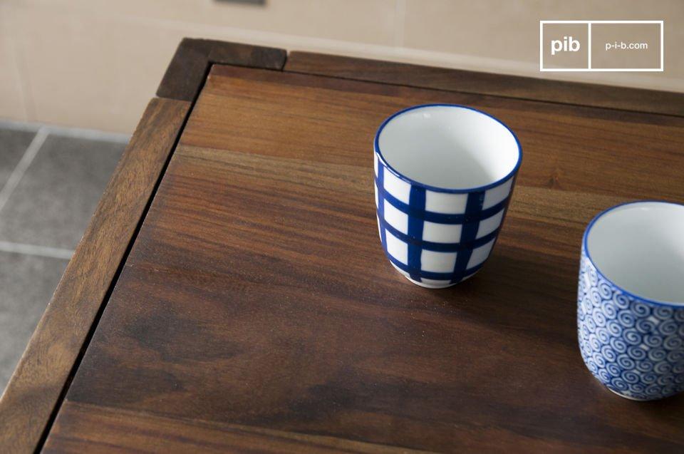 De Kitell tafel is een klassieke scandinavische eettafel met een retro touch die je eetkamer