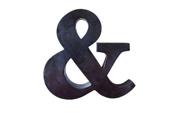 Kleine Ampersand Productfoto