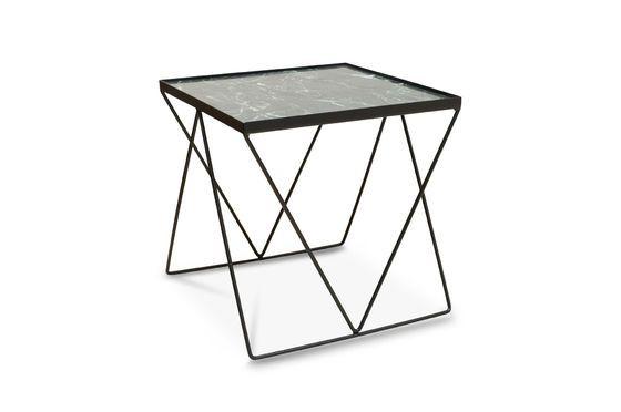 Kleine Bumcello tafel in groen marmer Productfoto