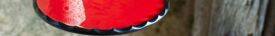 Benadrukte materialen Kleine Cadix tafel