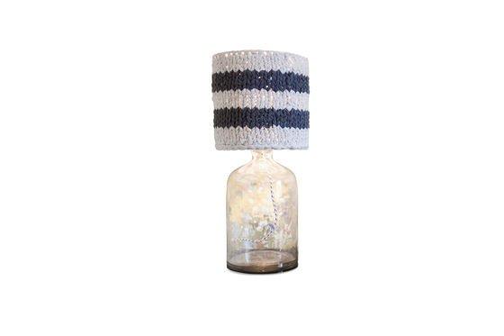 Kleine grijze Paimpol lampenkap Productfoto