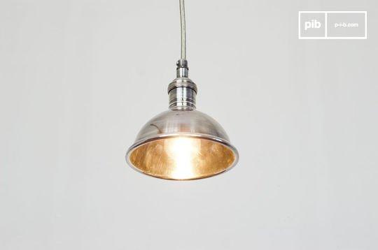 Kleine zilveren hanglamp