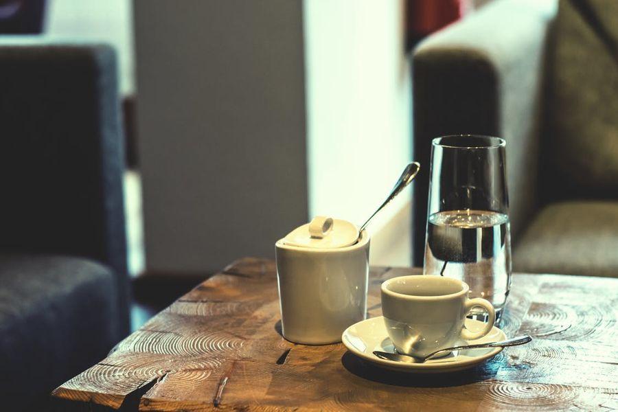 Koffie salontafel hout
