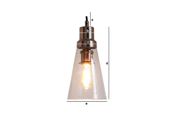 Productafmetingen Konisk hanglamp