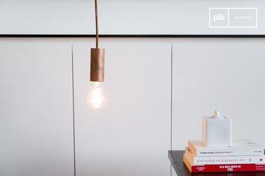 Koperen NUD hanglamp