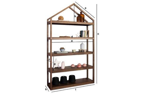 Productafmetingen Koti Pähkinä kast