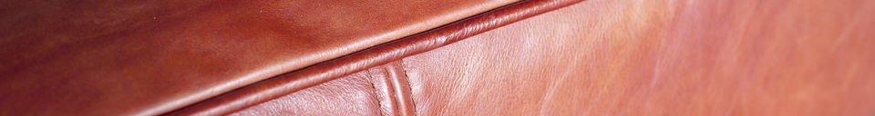 Benadrukte materialen Krieger Vintage bank
