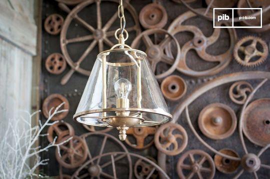 Lacanau glazen hanglamp
