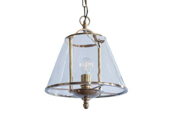 Lacanau glazen hanglamp Productfoto