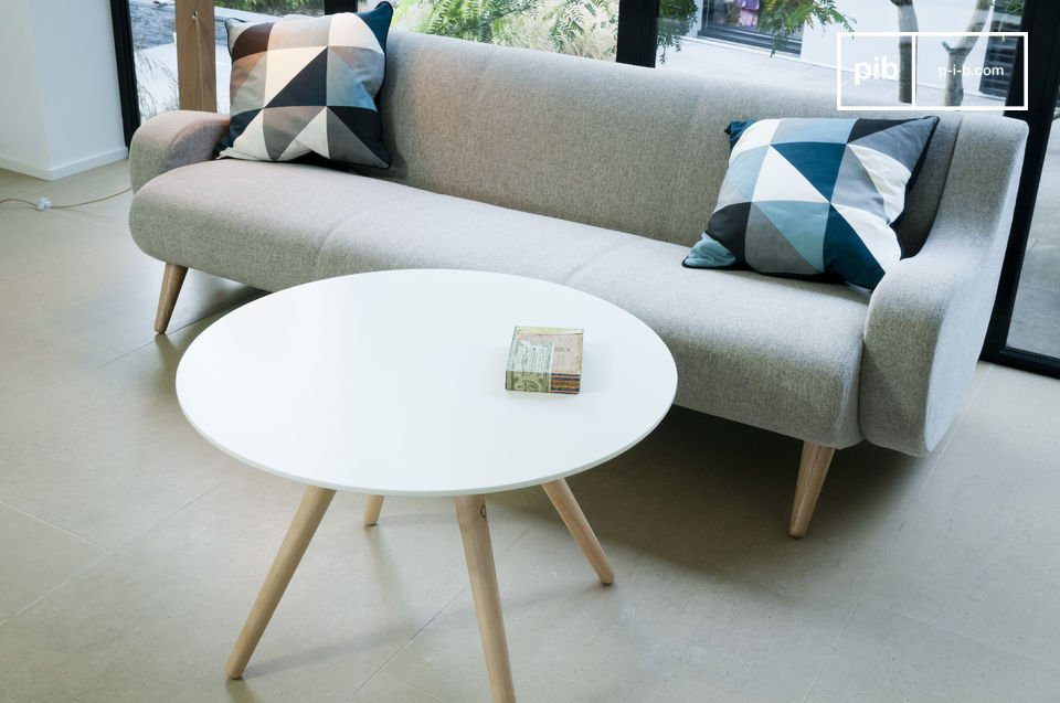 Een simpel design geïnspireerd op de jaren '50